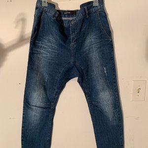 Mean pac sun skinny jean joggers